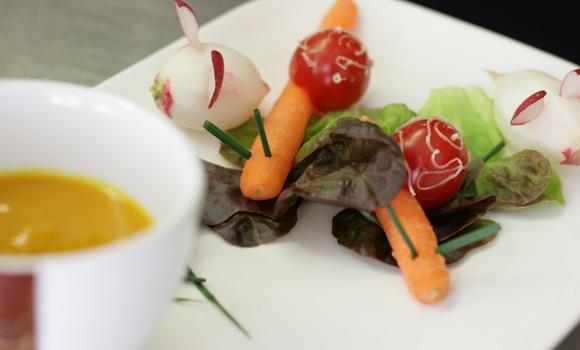 Bierthe ++ Restaurant Troisdorf ++ Einschulung Vorspeise