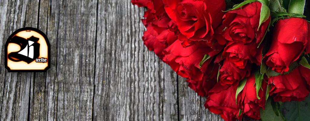 Romantischer Valentinstag im Bierthe